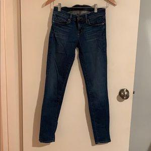 J Brand Medium Wash Skinny Jeans size 25